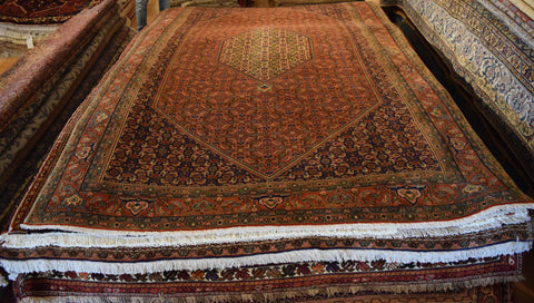 Bijar Rug 313x202 Z4847 - Persian Tribal Rugs
