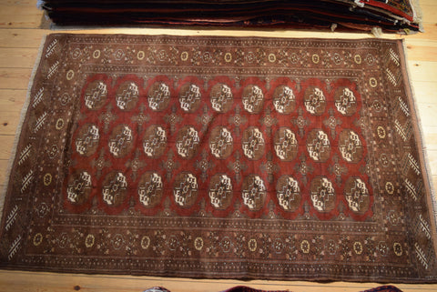 Turkman Rug 191x100 Z227 - Persian Tribal Rugs