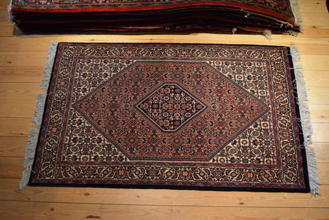 Bijar Rug 175x110 Z137 - Persian Tribal Rugs