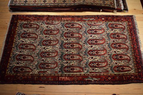 Senneh Rug 217x122 7300 - Persian Tribal Rugs - 1