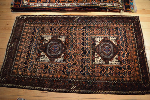 Balouch Rug 210x130 X5595 - Persian Tribal Rugs