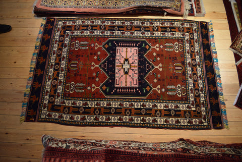 Quchan Rug 210x130 1182 - Persian Tribal Rugs - 1
