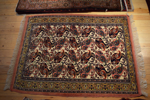 Quchan Rug 180x132 9632 - Persian Tribal Rugs - 1