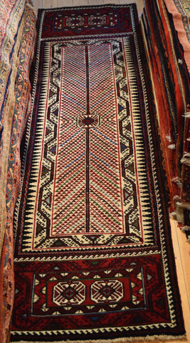 Kurd Runner 315x90 Z1585 - Persian Tribal Rugs