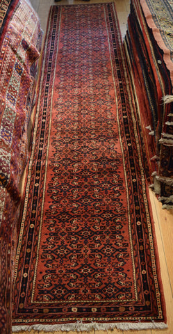 Hossein Abad Runner 410x80 Z4532 - Persian Tribal Rugs
