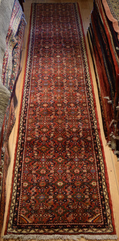 Hossein Abad Runner 396x78 Z3028 - Persian Tribal Rugs