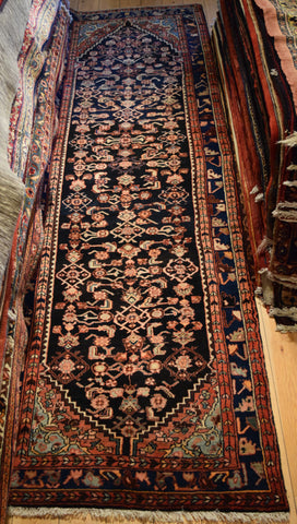 Hamedan Runner 330x100 Z4413 - Persian Tribal Rugs