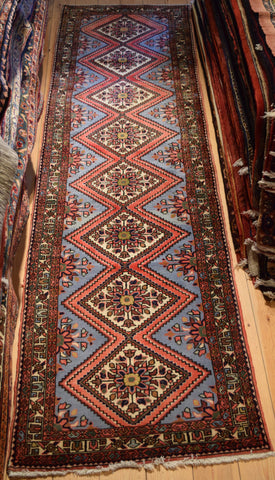 Hamedan Runner 300x80 Z2425 - Persian Tribal Rugs