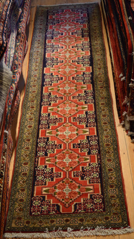 Senneh Runner 290x80 X4696 - Persian Tribal Rugs