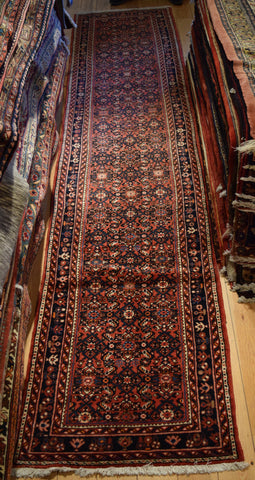 Hossein Abad Runner 410x85 X6026 - Persian Tribal Rugs