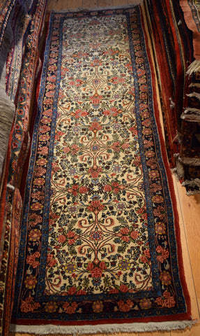 Bijar Runner 290x85 Z893 - Persian Tribal Rugs