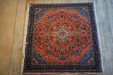 Hamedan Rug 100x100 Z4673 - Persian Tribal Rugs