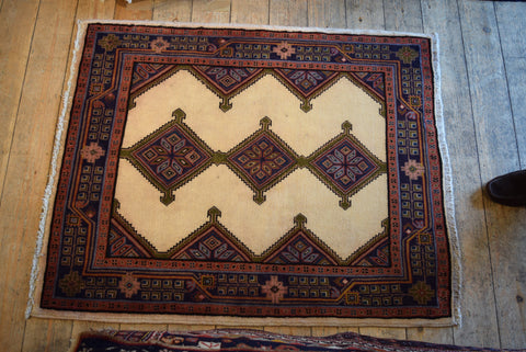 Koliai Rug 125x103 Z2070 - Persian Tribal Rugs