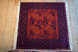 Turkman Rug 100x100 Z2817 - Persian Tribal Rugs