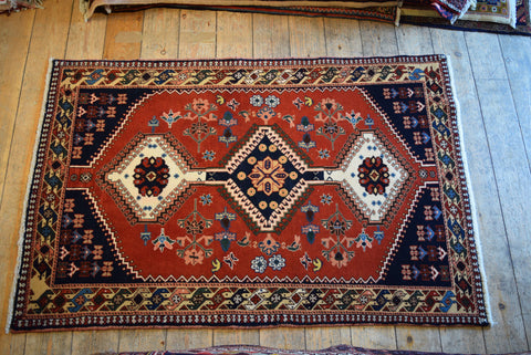 Yalameh Rug 148x100 X4838 - Persian Tribal Rugs