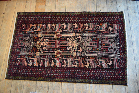 Balouch Rug 140x92 X5707 - Persian Tribal Rugs