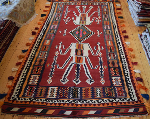 Persian Kilim 300x160 X675 - Persian Tribal Rugs