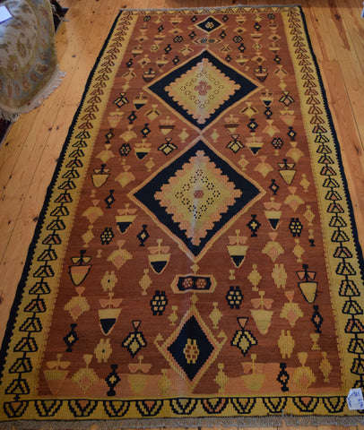 Persian Kilim 307x151 X1311 - Persian Tribal Rugs