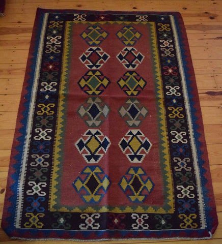 Persian Kilim 180x120 FAR30 - Persian Tribal Rugs