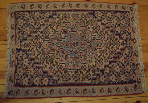 Persian Kilim 90x70 Z4603 - Persian Tribal Rugs