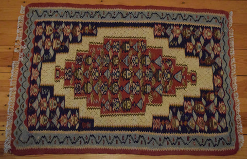 Persian Kilim 100x75 FAR29 - Persian Tribal Rugs