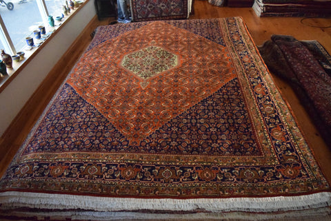 Bijar Rug 318x230 Z1403 - Persian Tribal Rugs