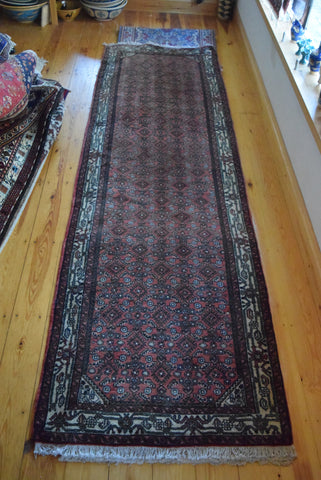 Hossein Abad Runner 290x90 X3627 - Persian Tribal Rugs