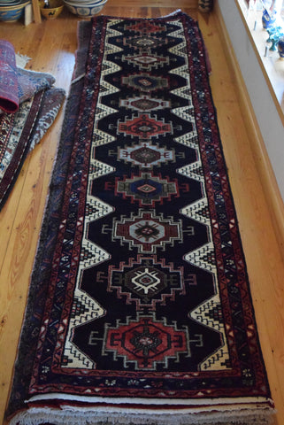 Koliai Runner 315x81 Z264 - Persian Tribal Rugs