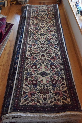 Kashan Runner 300x70 X2608 - Persian Tribal Rugs