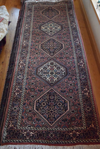 bijar Runner 250x75 Z4517 - Persian Tribal Rugs