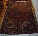 bijar Rug 210x140 Z4615 - Persian Tribal Rugs