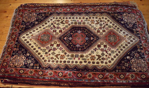 Shiraz Rug 191x108 X1476 - Persian Tribal Rugs - 1