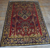 Qum Rug 215x152 Z3064 - Persian Tribal Rugs