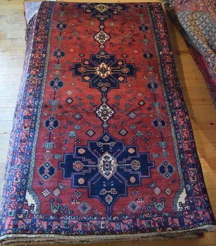 Hamedan Rug 290x150 Z4910 - Persian Tribal Rugs