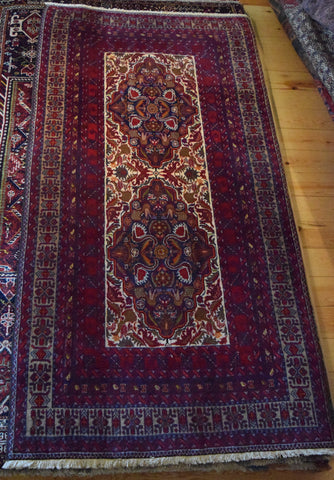 Balouch Rug 228x117 Z4792 - Persian Tribal Rugs