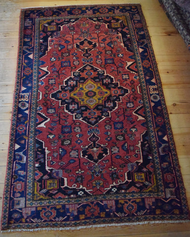 Kurd Rug 238x140 V3034 - Persian Tribal Rugs
