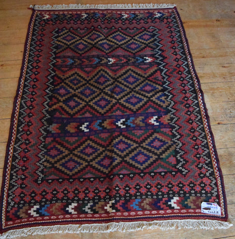 Persian Kilim 145x105 Z2776 - Persian Tribal Rugs