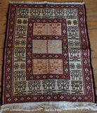 Persian Kilim 97x70 X5942 - Persian Tribal Rugs - 2