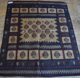 Persian Kilim 152x120 X5613 - Persian Tribal Rugs - 2