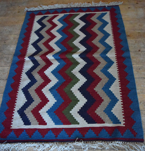 Persian Kilim 150x105 Z2767 - Persian Tribal Rugs
