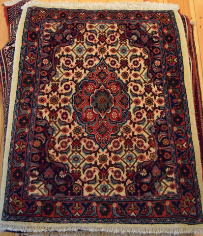 sarouk Rug 90x68 X6295 - Persian Tribal Rugs