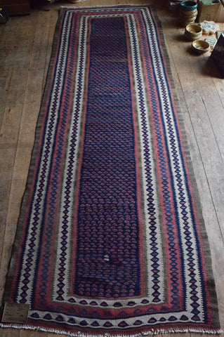 Persian Kilim 305x105 AA 100 - Persian Tribal Rugs