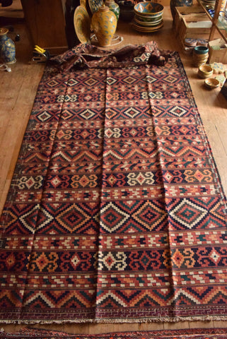 Persian Kilim 405x165 AA97 - Persian Tribal Rugs