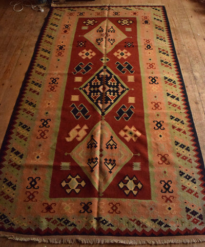 Persian Kilim 280x155 Z4649 - Persian Tribal Rugs