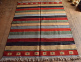 Persian Kilim 203x153 Z1811 - Persian Tribal Rugs - 2