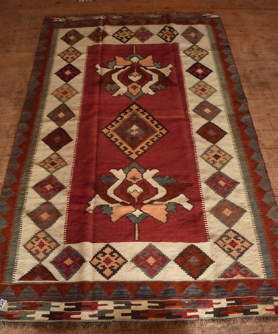 Persian Kilim 239x150 AA89 - Persian Tribal Rugs