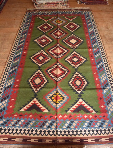 Persian Kilim 283x153 Z4826 - Persian Tribal Rugs