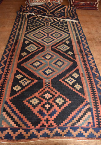 Persian Kilim 180x145 X5288 - Persian Tribal Rugs