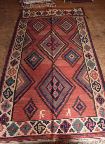 Persian Kilim 300x142 AA85 - Persian Tribal Rugs