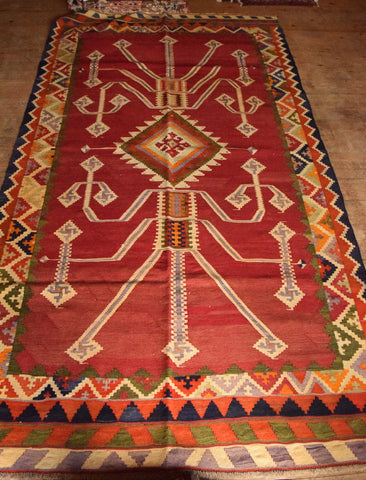 Persian Kilim 290x160 Z2747 - Persian Tribal Rugs